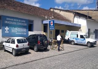 Hospital 24 horas da cidade de Marechal. (foto: Arquivo MN)