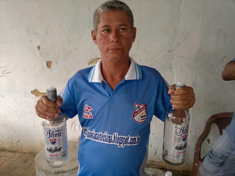 Internauta Carlos Eduardo, o 'mudo' como é mais conhecido em Marechal. (foto: André do MN)