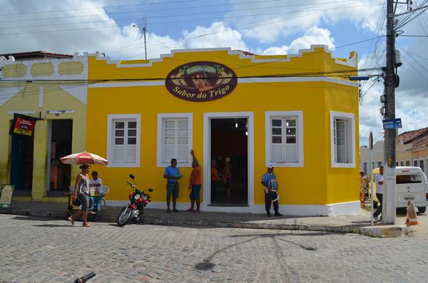 Panificação fica localizada no centro histórico deodorense. (foto: André do MN)