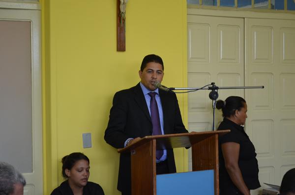 Vereador Marcelo Moringa no plenário do parlamento municipal. (foto: André do MN)