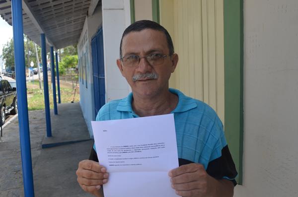 Ronaldo Sena, presidente do SINMAD. (foto: MN)