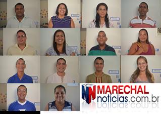 Na imagem acima temos 14 dos 15 candidatos ao Conselho. (fotos: André do MN)