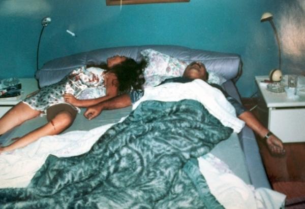 PC Farias e Susana Marcolino, mortos em 23 de junho de 1996. (foto: Dida Sampaio/AE)