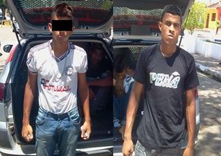 Acusados foram encaminhados para o 17º DP. (foto: MN)