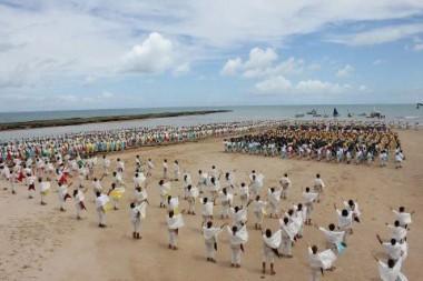 Gravações foram realizadas na praia do Pontal de Coruripe (Foto: Setur)