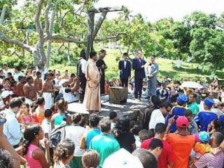 Espetáculo é encenado no município de Pilar (Foto: Divulgação)