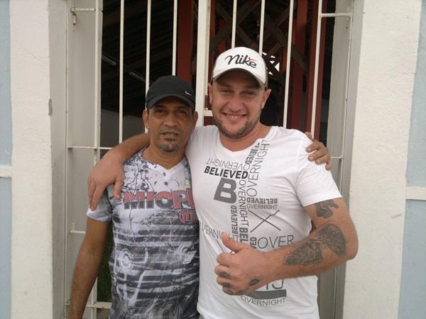 José Caldas e Luiz Eleutério, idealizadores do projeto.