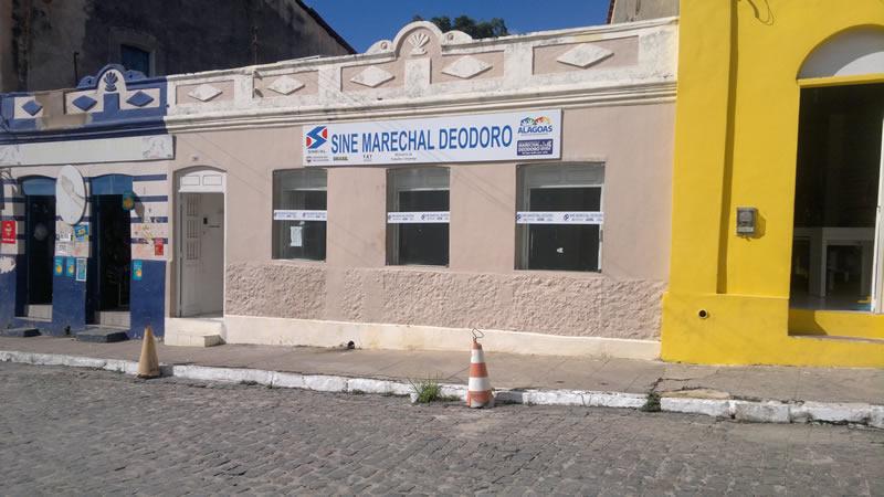 Emissão de CTPS estão suspensas no SINE Marechal. (foto: André do MN)