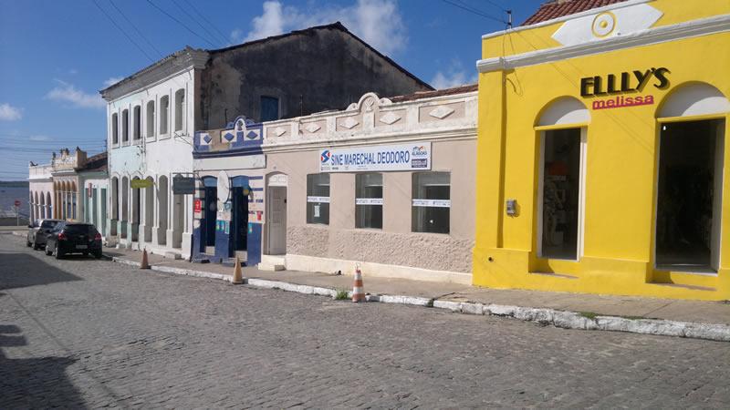Unidade está instalada no centro histórico deodorense.