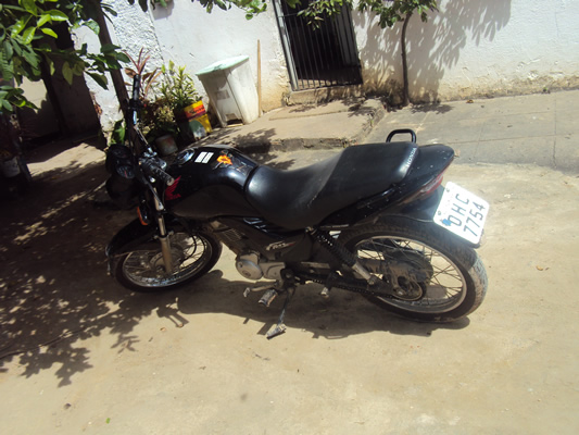 Moto havia sido roubada na cidade de Penedo-AL