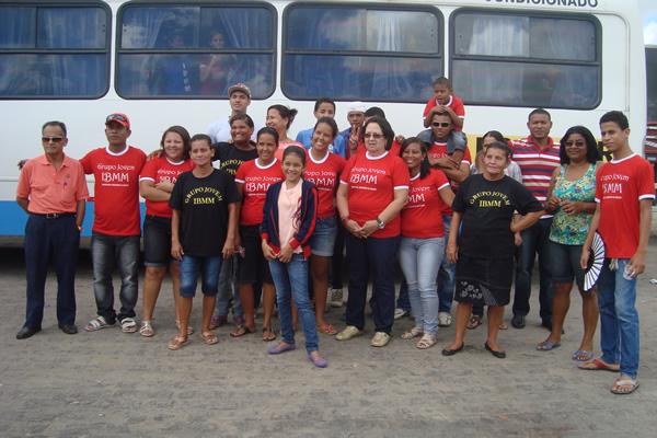 Caravana saiu de Marechal Deodoro para o sertão alagoano.