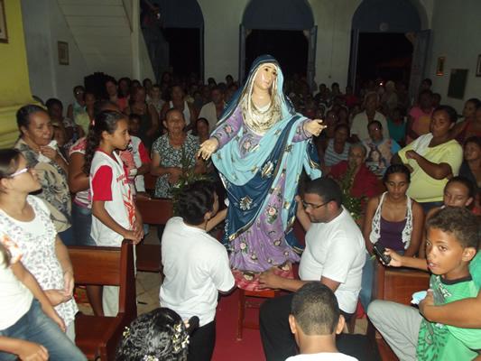 Cerimônia de Coroação aconteceu na Igreja do Bom Fim. (foto: Gabriel Santos)