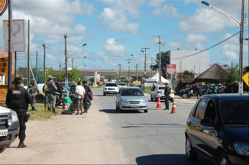Operação deverá se estender até a Barra de São Miguel.