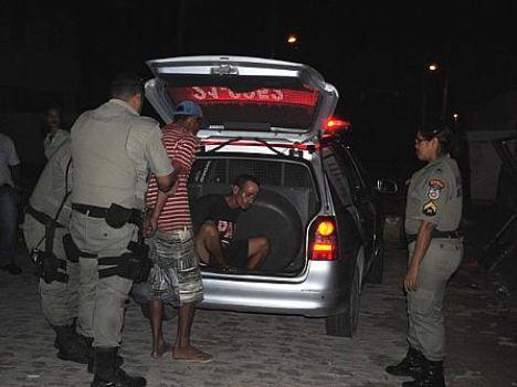 Moradores de rua são detidos após briga (Alagoas24horas)
