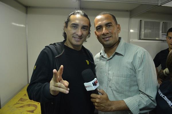 Vicente Nery concedeu entrevista ao site MN.