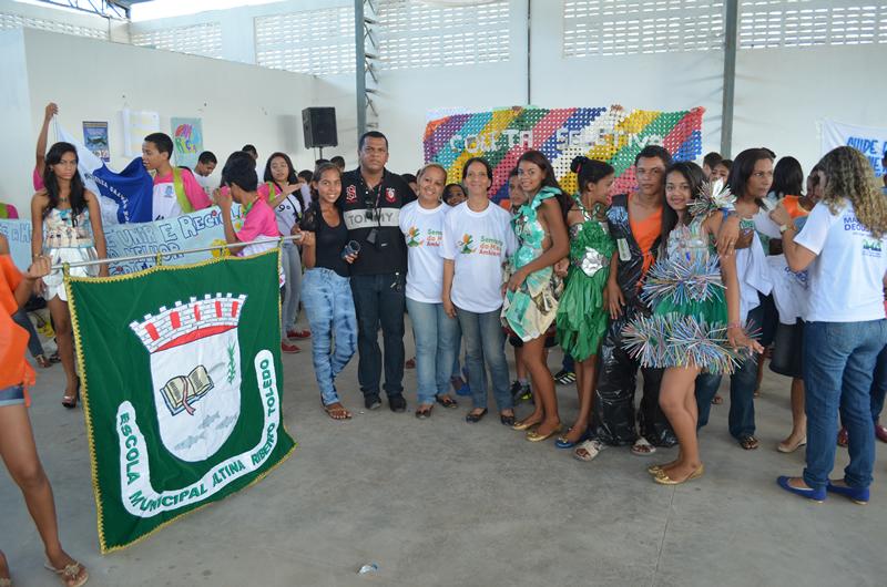 Escola Altina Ribeiro foi uma das participantes da Gincana.