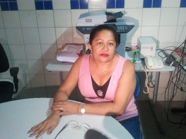 Maria Eunice Viana, diretora-adjunta da escola