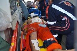 Eronildes Pereira foi encaminhado à Unidade de Emergência do Agreste, em Arapiraca