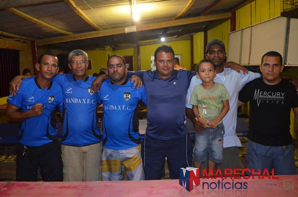 Equipe diretiva do Banda X. (foto: Lalinho Barros)