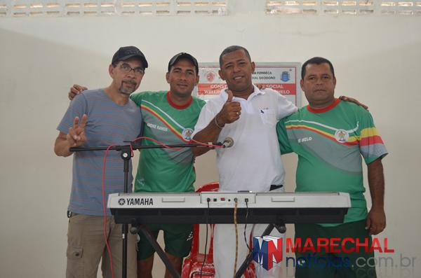 Juarez JG Som, André do MN, Everaldo dos Teclados e Zé do Mé.