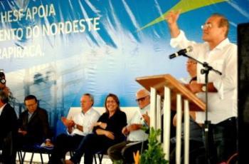 Renan Calheiros (PMDB-AL) discursa na inauguração da subestação