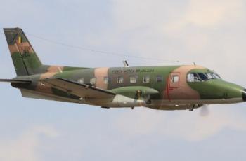 Foto por: Agência Força Aérea/Sgt JohnsonAvião de transporte modelo C-95A Bandeirante