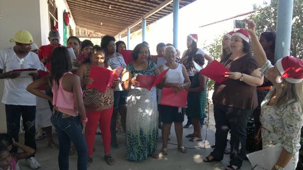 Pacientes participaram também de apresentações culturais.