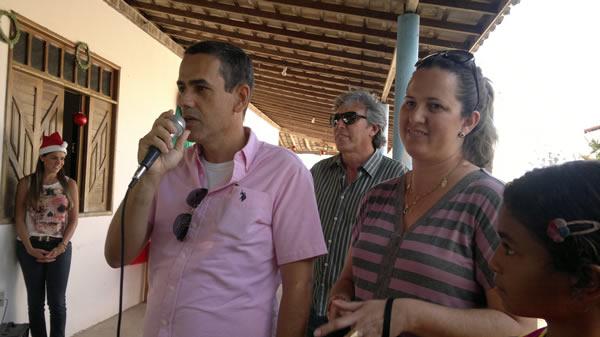 Secretário Francisco falou em nome do prefeito Cristiano Matheus.
