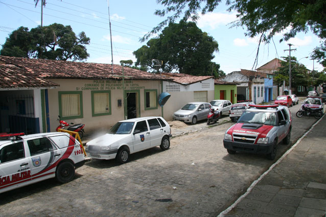 5ª Cia da PM alagoana em Marechal Deodoro. (foto: reprodução)