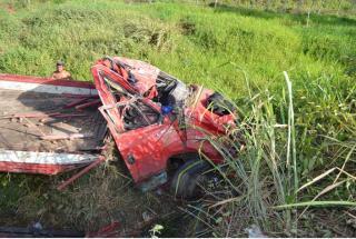 O motorista do veículo morreu no local; IC e IML foram acionados para os procedimentos