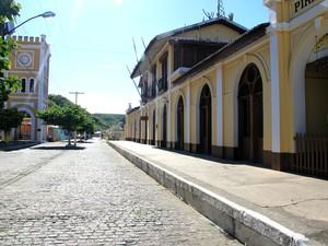 Centro histórico de Piranhas é tombado pelo Iphan. (Foto: Waldson Costa/ G1)