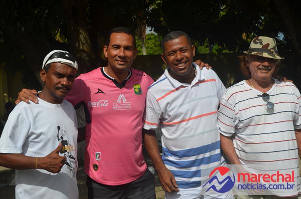 Sandro Moreno, André do MN, Everaldo dos Teclados e Zé Arnaldo.