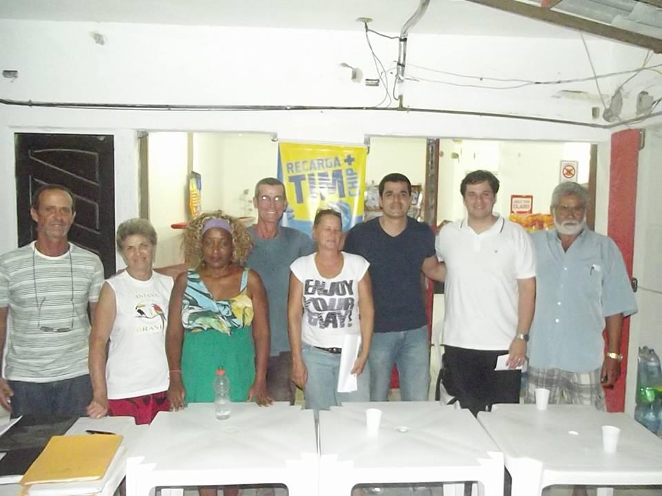 Lideranças da comunidade se reuniram para discutir os problemas do Francês.