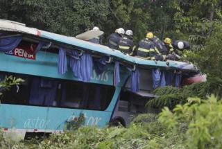 De acordo com a PRF, o teste de bafômetro feito no motorista do ônibus deu negativo