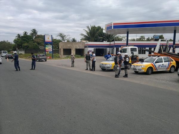 Operação acontece em toda a cidade de Marechal Deodoro.