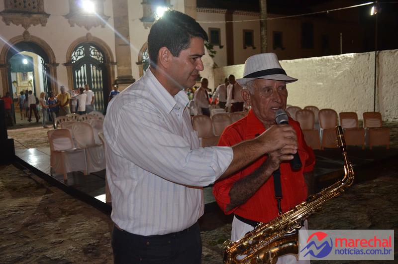 Carlos Roberts, Secretário de Comunicação ao lado do Maestro Zezinho.