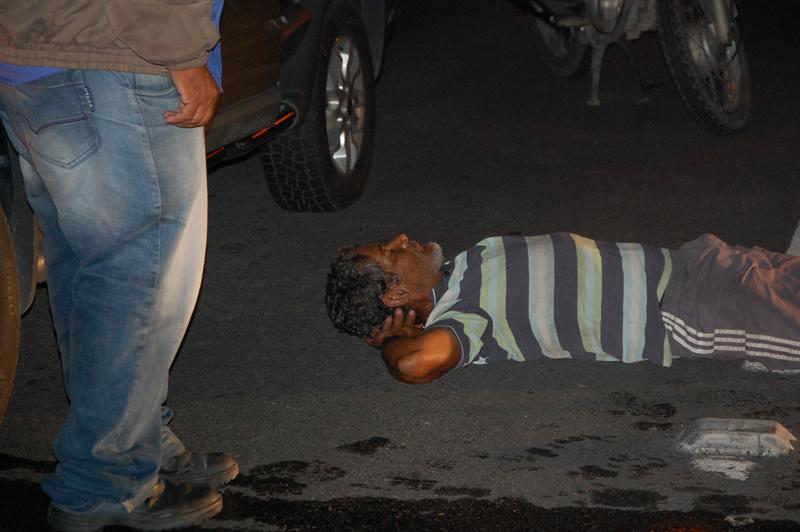 Acidente aconteceu próximo ao 'Jacaré' na Barra Nova. (foto: Sandro Quintela)