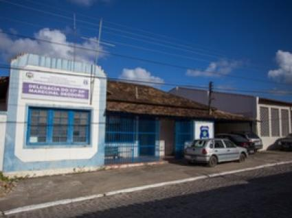 17º DP em Marechal Deodoro. (foto: Sandro Quintela)