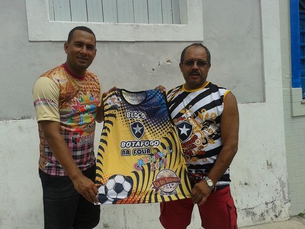 André do MN, Raimundo e a nova camisa do Botafogo. (Arte: KMIZON)