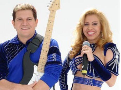 Chimbinha e Joelma da Banda Calipso.