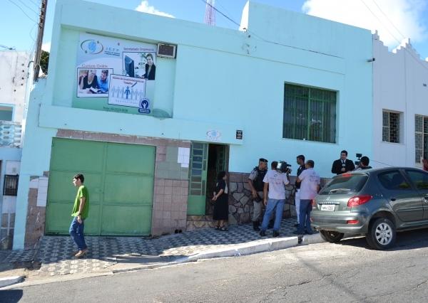 Entrada da Escola Profissionalizante (foto: Felipe Souza)
