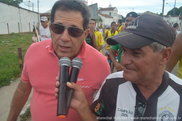 João Lopes durante entrevista ao 'Garotinho' Zé Maia.