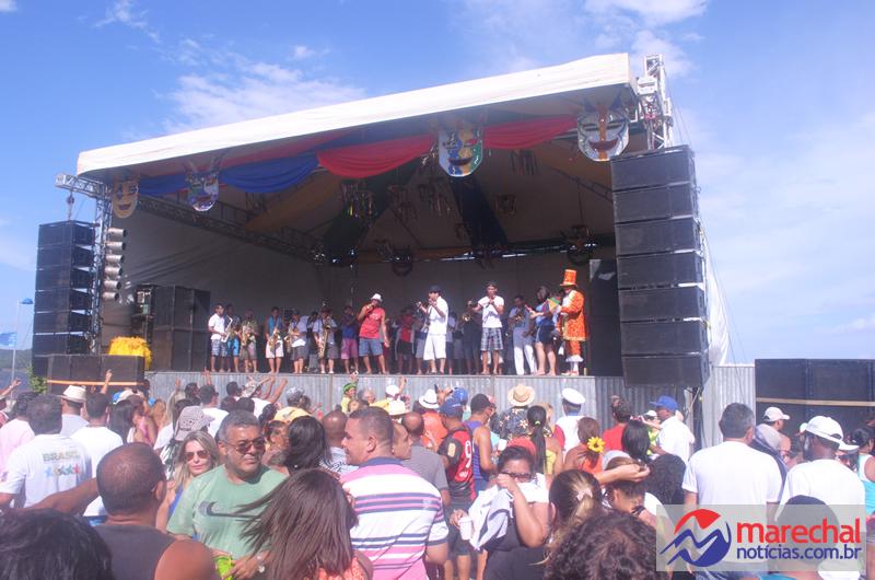 Músicos deodorenses se apresentaram ao lado da Spok Frevo.