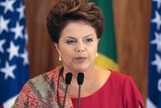 A presidenta Dilma Rousseff