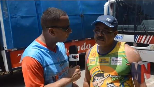 Raimundo, presidente do bloco em entrevista ao MN.