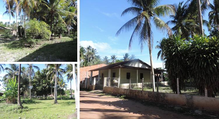 Sítio fica localizado no bairro de Taperaguá;