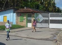 Tentativa de homicídio aconteceu na entrada do campus do IFAL. (foto: André do MN)