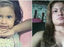 Garota de quatro anos foi morta com uma faca; suspeita está internada em um hospital da região Reprodução Facebook