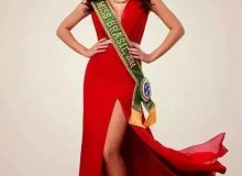 A Miss Brasil Melissa Gurgel postou fotos oficiais para o Miss Universo em seu perfil no Facebook