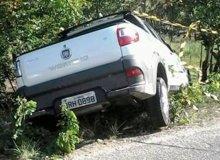 Veículo que era conduzido pelo militar.